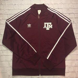 Adidas throwback Texas A&M Aggies jacket